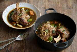 Slow Cooked Lamb Shanks edited