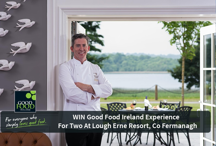 NOW CLOSED WIN Good Food Ireland Experience for 2 in Lough Erne Resort