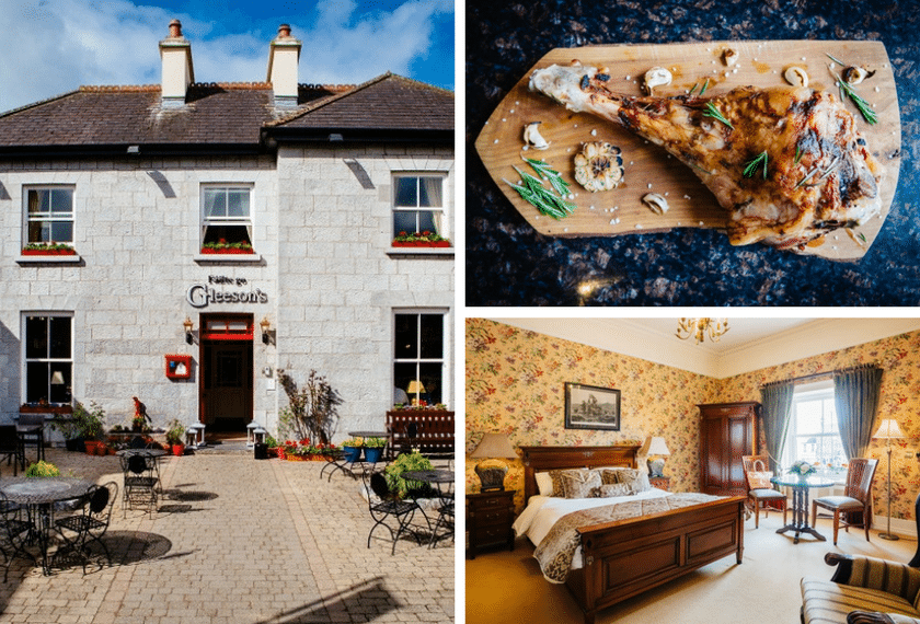 NOW CLOSED WIN Good Food Ireland Experience for Two at Gleesons Restaurant & Rooms