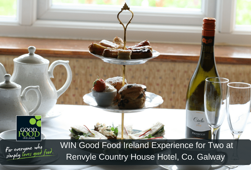 NOW CLOSED WIN Good Food Ireland Experience for Two at Renvyle Country House Hotel, Co. Galway