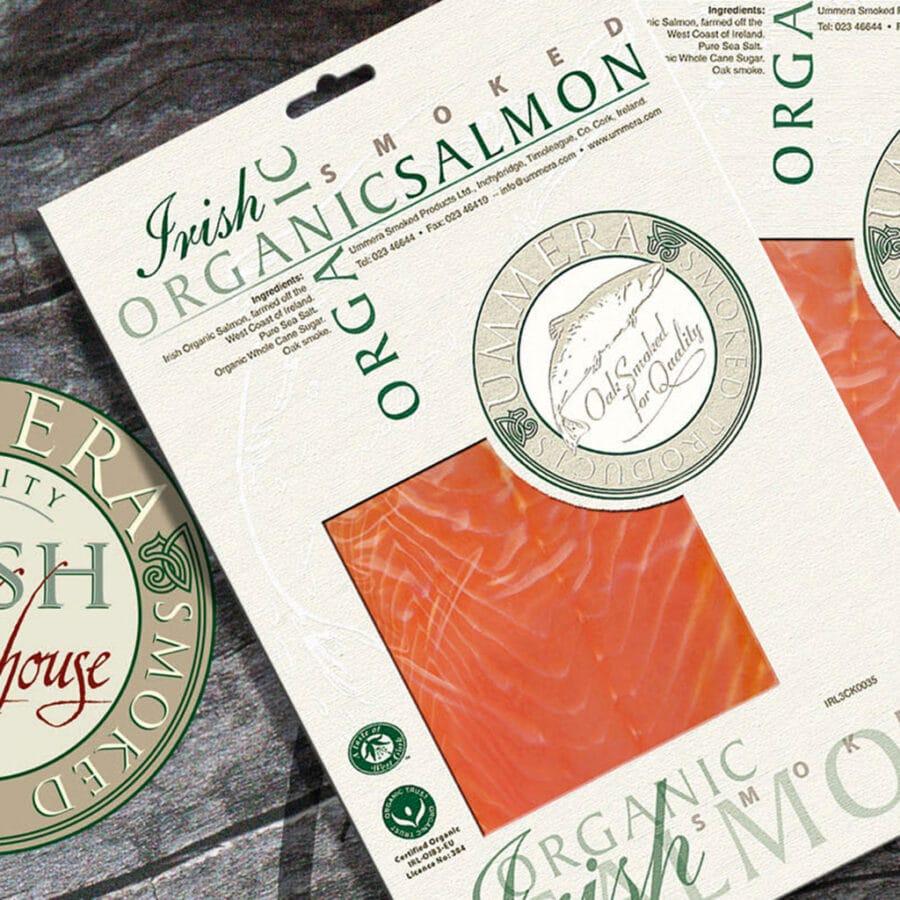 Smoked Irish Organic Salmon