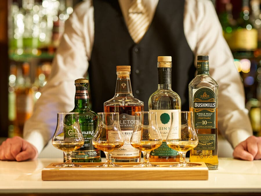 Private Irish Whiskey Tasting in Historic Landmark Hotel
