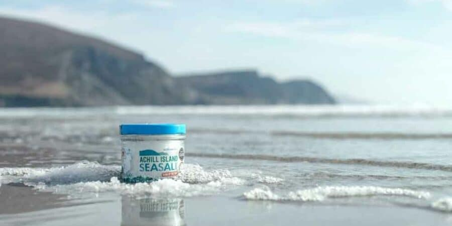 Achill Island Sea Salt, Co. Mayo Approved to the Good Food Ireland® Collection
