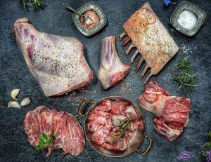 Fresh Heather Sweetened Lamb from Achill Island, Co. Mayo