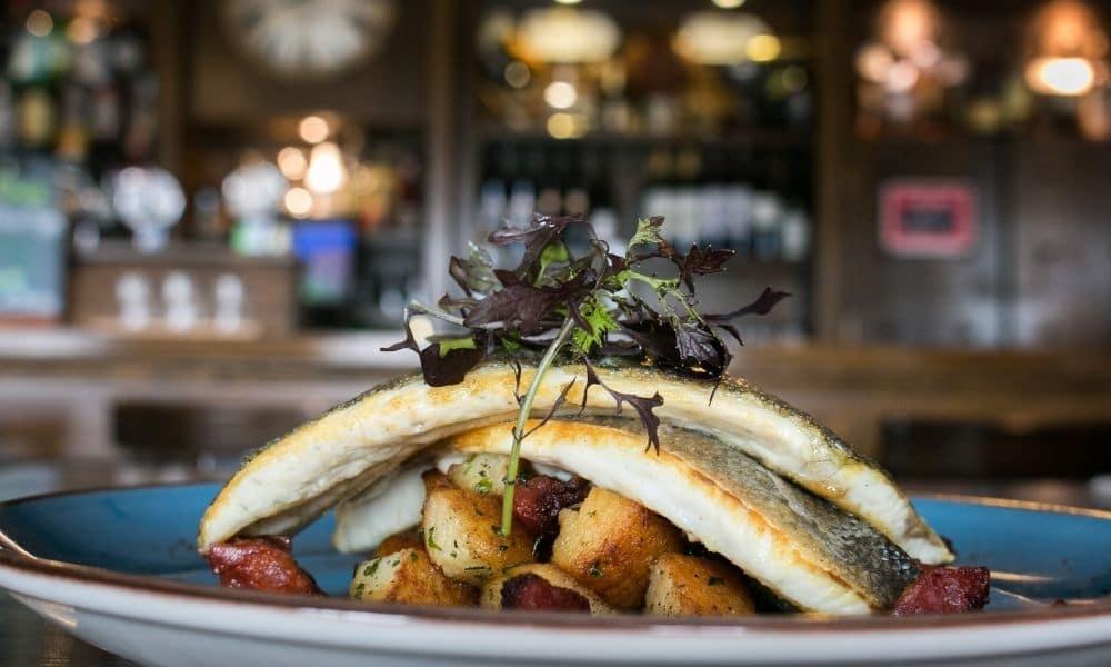 Pan Fried Sea Bream