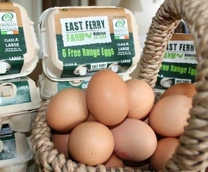 East Ferry Free Range Farm, Irish Food
