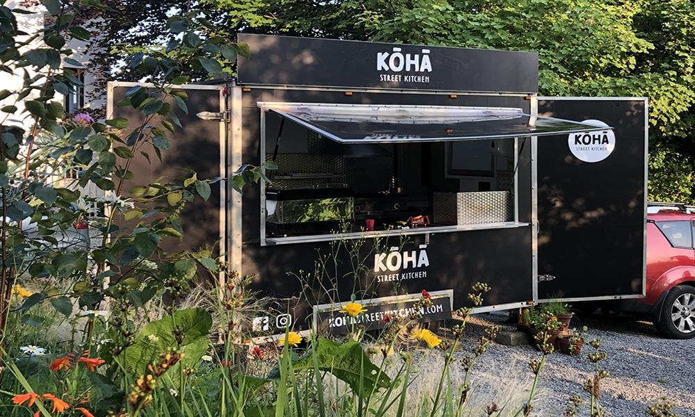 Food Truck, Koha Street Kitchen, Sligo