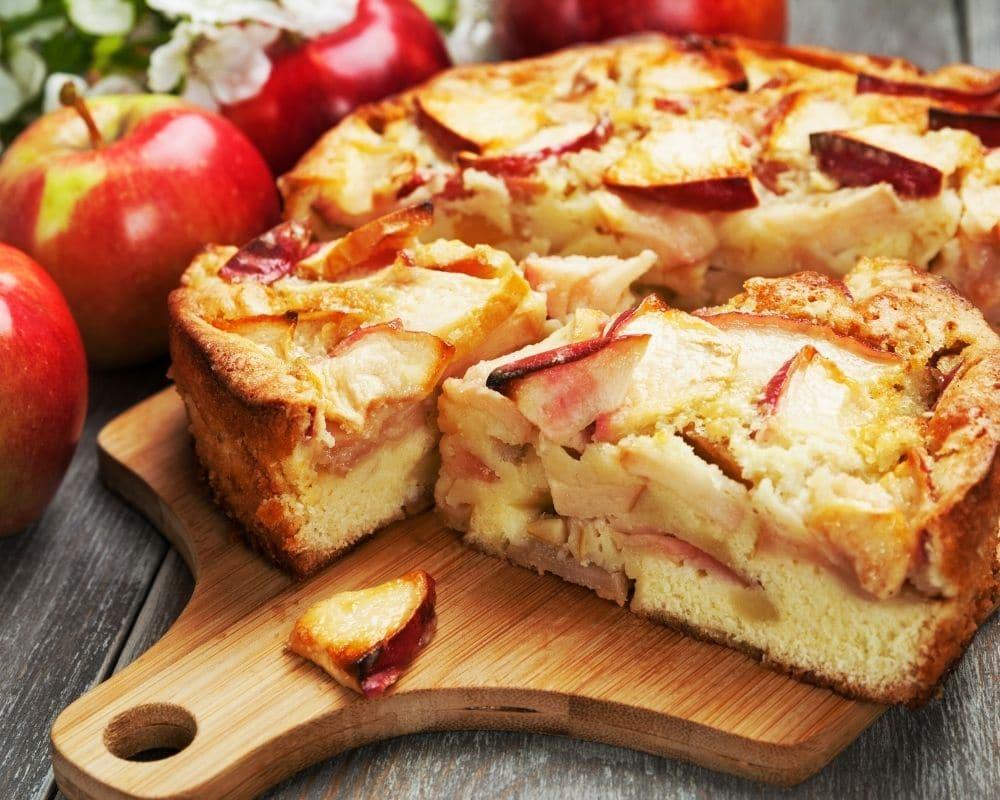 Biddy's Apple Cake Recipe from Dublin Cookery School