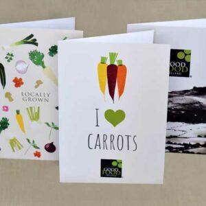 Good Food Ireland Greeting Cards