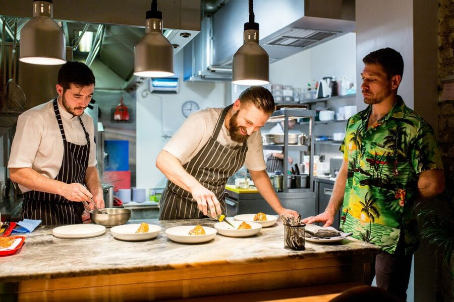 Fire Starters – The Red Hot Irish Chefs Cooking With Fire